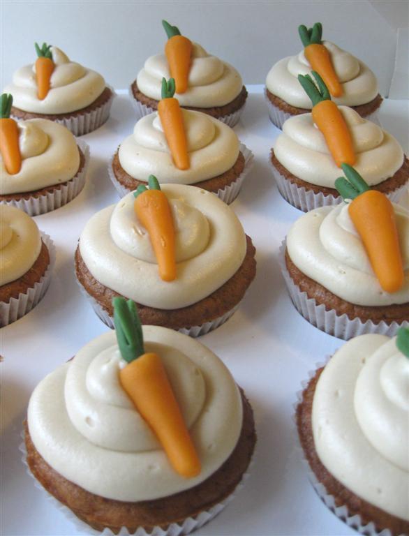 Mandarin Gulrot Cupcakes ! - Sweets 2 Share